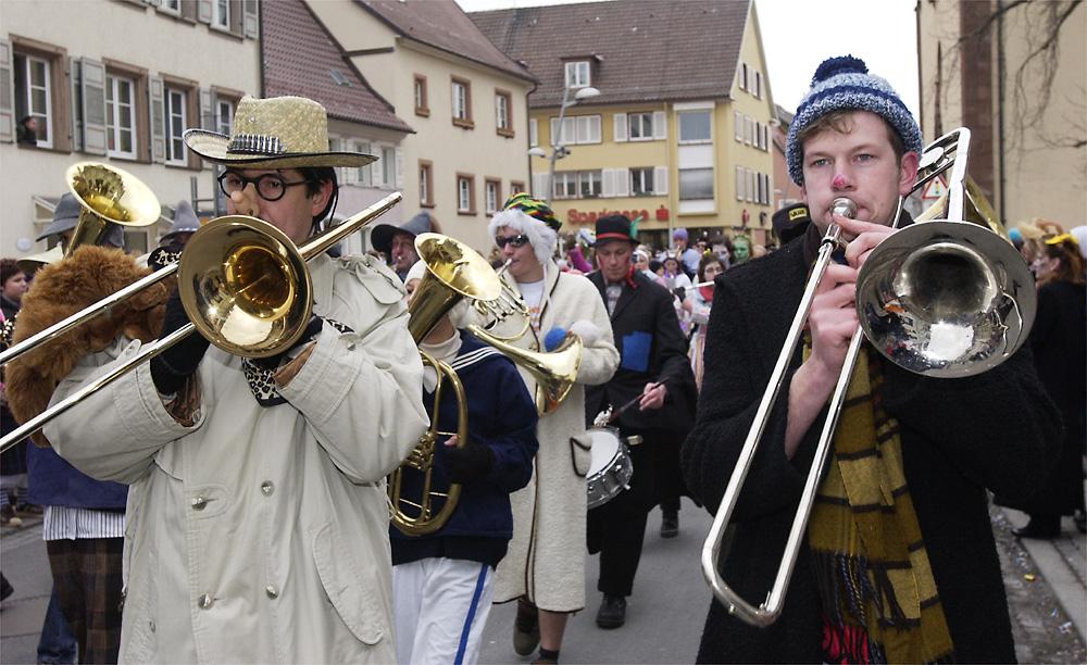 Huefinger Fastnacht - Fotos Fasnetfiguren aus Archiv